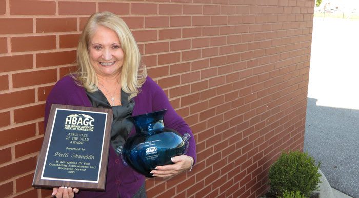 Patti Shamblin, the Director of Loan Origination for the West Virginia Housing Development Fund, was recently honored by the state's homebuilding community. Shamblin was named Associate of The Year for 2015 by both The Homebuilders Association of West Virginia and the Homebuilders Association of Greater Charleston. The Fund is West Virginia's affordable mortgage leader
