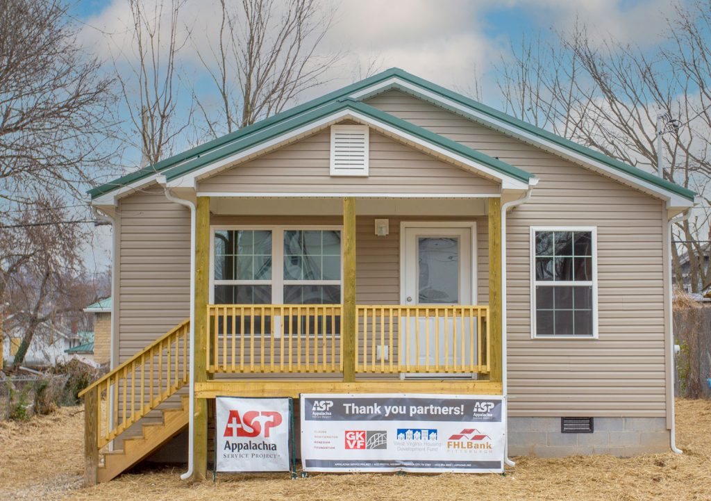 Bego's home on Charleston's West Side. The home was funded, in part, through the Home4Good program – a partnership between Federal Home Loan Bank Pittsburgh and the West Virginia Housing Development Fund.